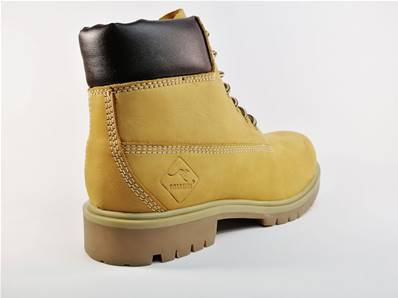 Boots montante ROADSIGN en cuir camel Road Dark Yellow