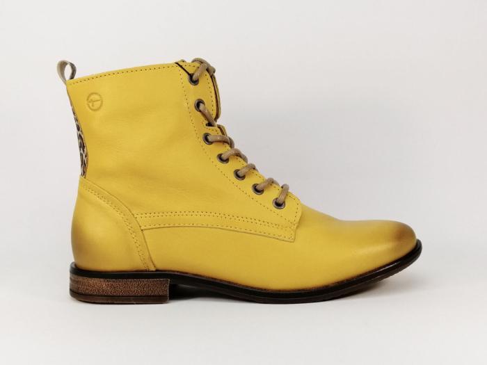 Tamaris 25242-23 boots Saffron Bottes Bottines Jaune jaune moutarde