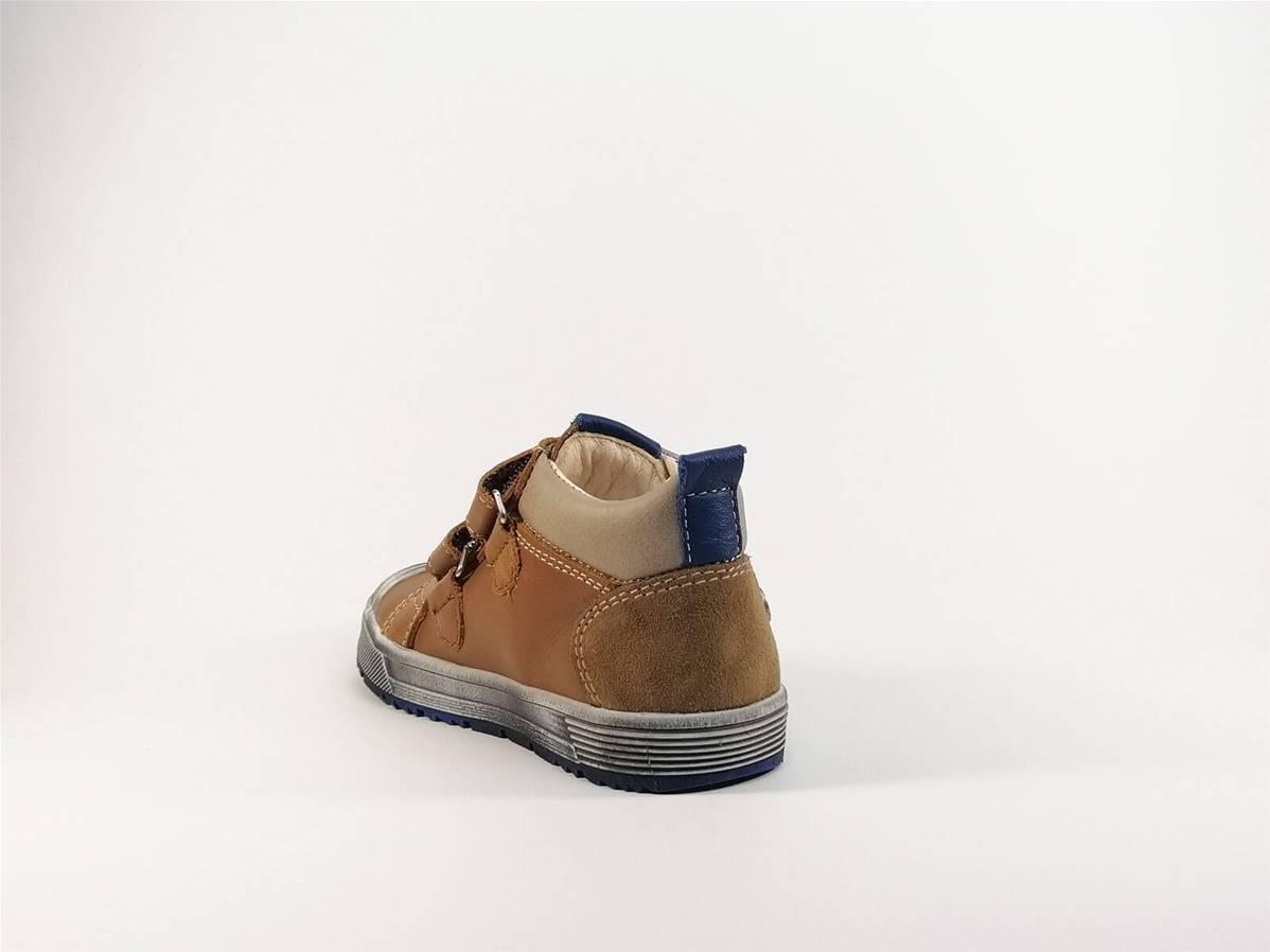 Chaussure à scratch entièrement en cuir BOPY Baledovel